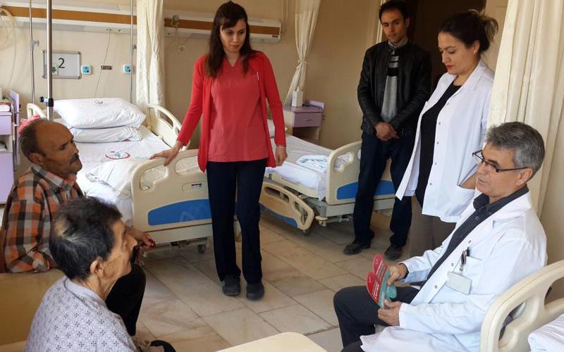 Kale Devlet Hastanesi'ne akılcı ilaç takip birimi