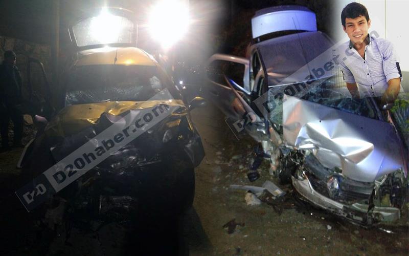 Honaz yolunda kaza: 1 ölü, 5 yaralı