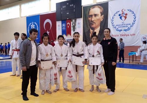 Judoda Türkiye Şampiyonası'na 4 bilet