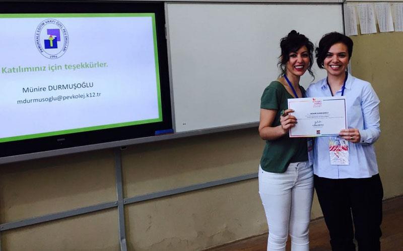 PEV ekibi Yaratıcı Yenilikçi Öğretmen Seminerlerine katıldı
