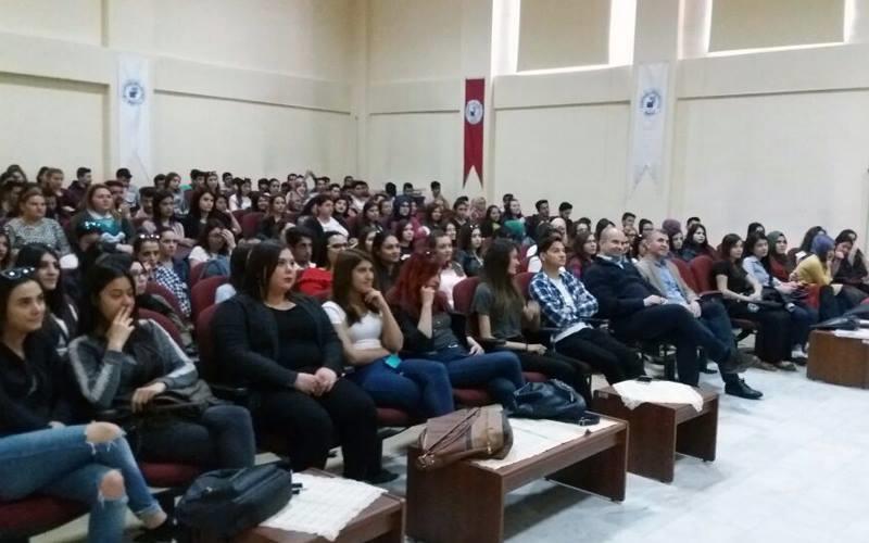 Buldan MYO öğrencilerine seminer