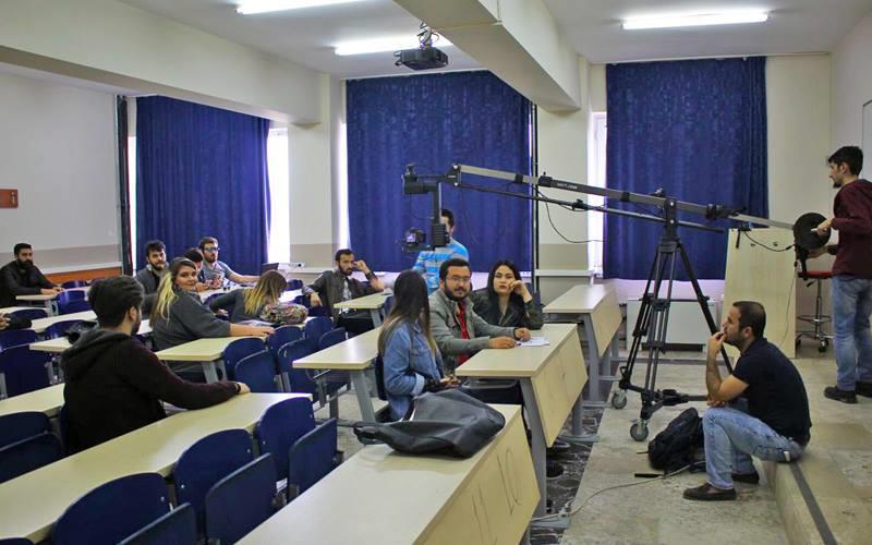 PAÜ öğrencileri dizi çekiyor