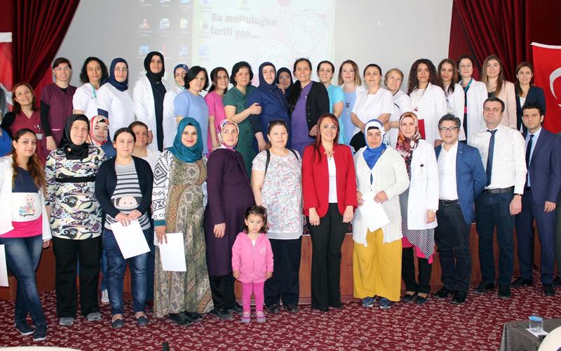 Denizli'de 2 bin 600 anne adayına gebelik eğitimi