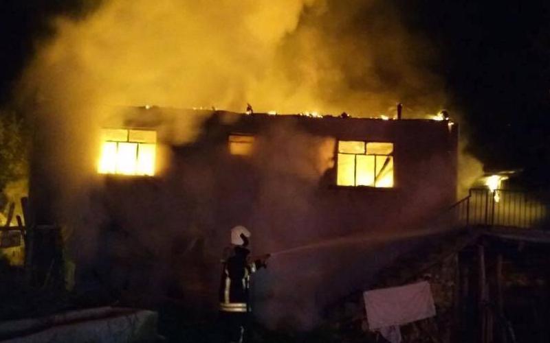 Çivril ve Buldan'da korkutan yangınlar
