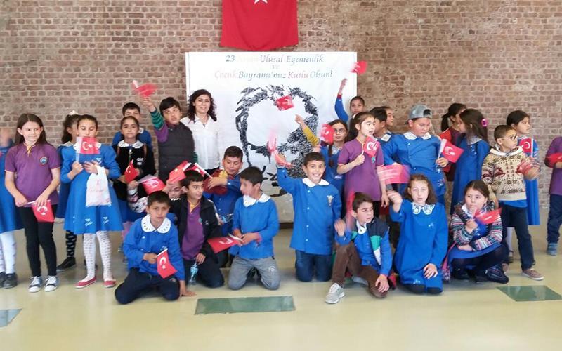 CSA'dan 23 Nisan Çocuk Şenliği