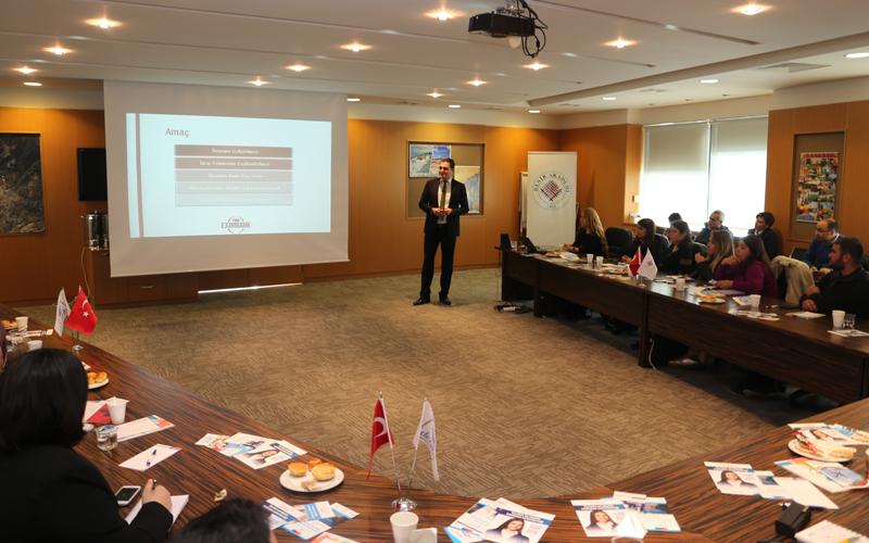 Eximbank, KOSGEB ve İŞKUR destekleri anlatıldı