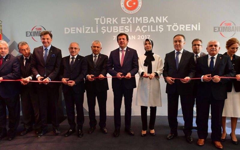 Eximbank Denizli Şubesi açıldı