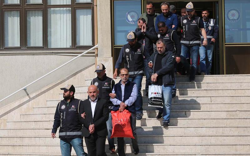 Denizli'de işadamına silahlı saldırıya 11 gözaltı