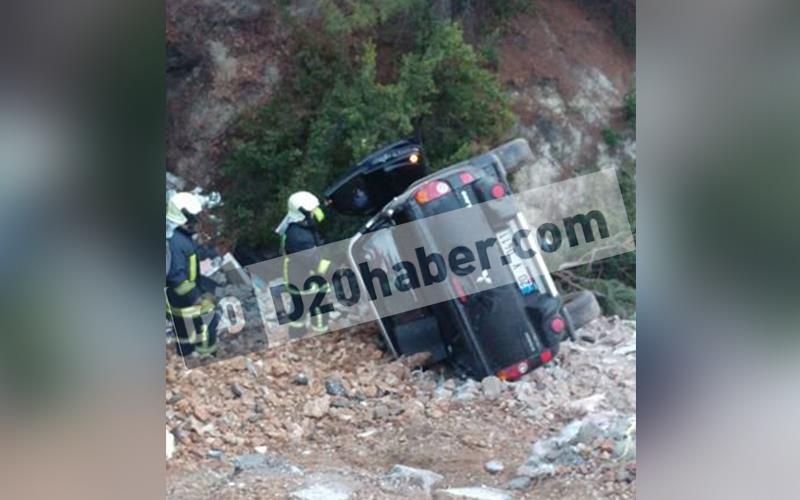 Karakurt'ta kaza: 1 ölü, 1 yaralı