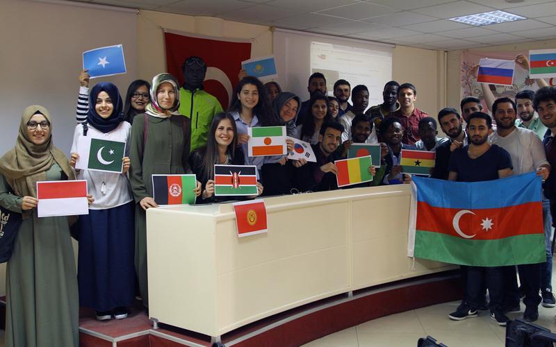 15 ülkeden öğrencilerin Denizli buluşması