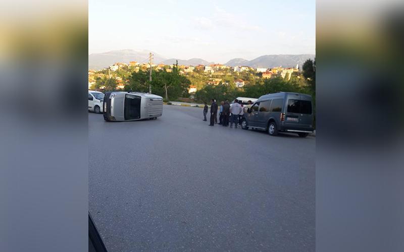 Meska'da kaza: 3 yaralı
