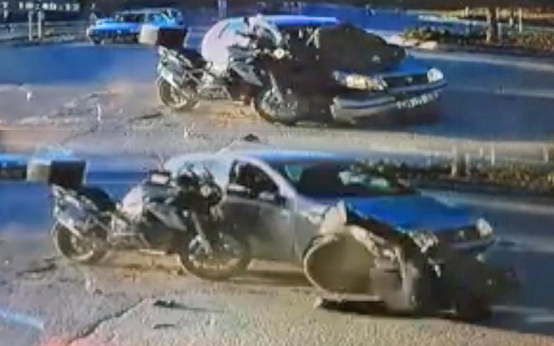 Yine motosiklet kazası: 1 yaralı