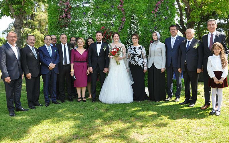 İpek ve Uslu ailelerinin en mutlu günü