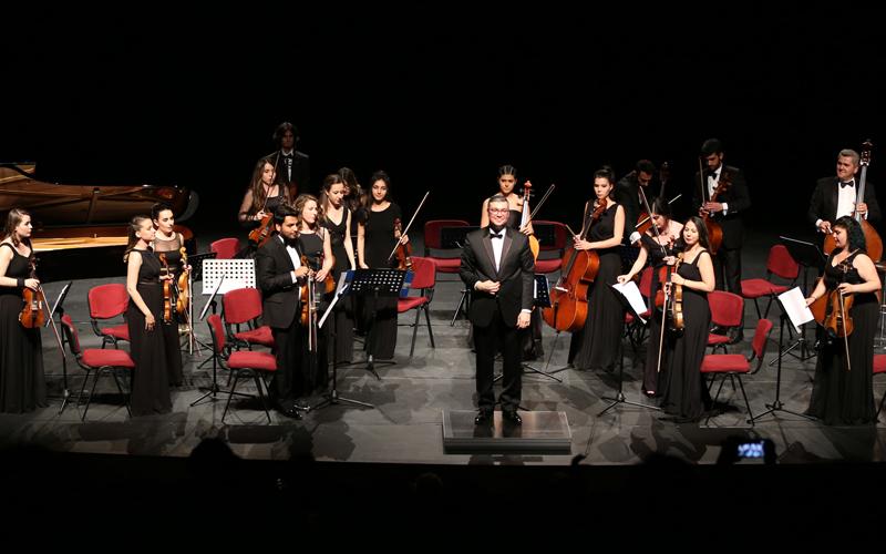 PAÜ'de Oda Orkestrası müzik rüzgarı estirdi