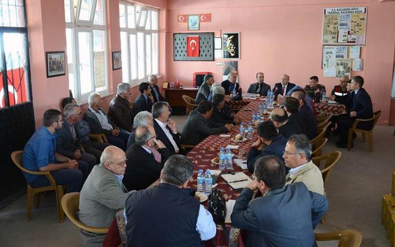 Pamukkale'de 3. muhtarlar toplantısı yapıldı