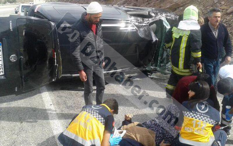 Serinhisar'da trafik kazası: 1 ölü, 3 yaralı