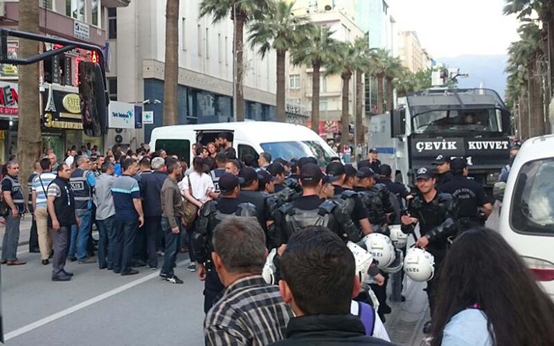 Eylemde gözaltına alınan 34 kişi serbest