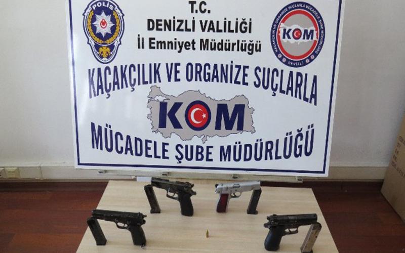 Polisten silah operasyonu 1 kişi tutuklandı