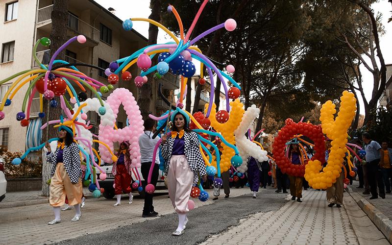 Sarayköy'de bayram havası estiren festival