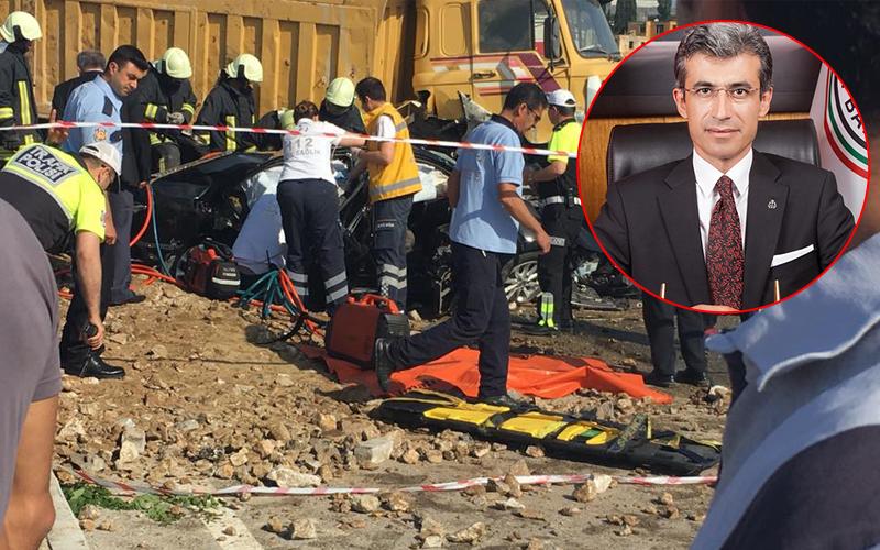 Başsavcı Alper kaza kurbanı