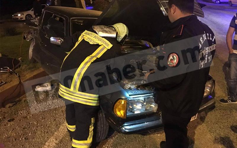 Bekilli'de trafik kazası