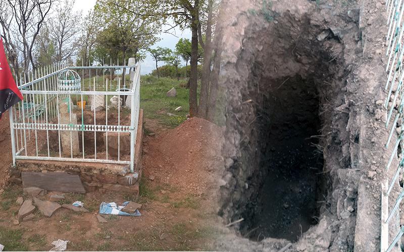 Buldan'da Kumralı Ali Paşa'nın mezarını kazdılar
