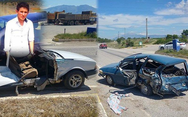 Acıpayam'da kaza: 1 ölü, 3 yaralı