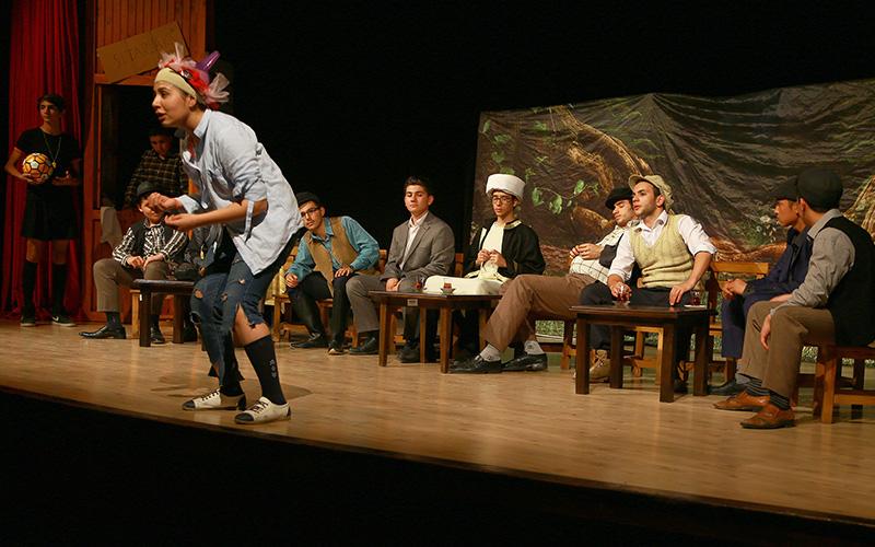 Liselerarası Tiyatro Günleri başladı