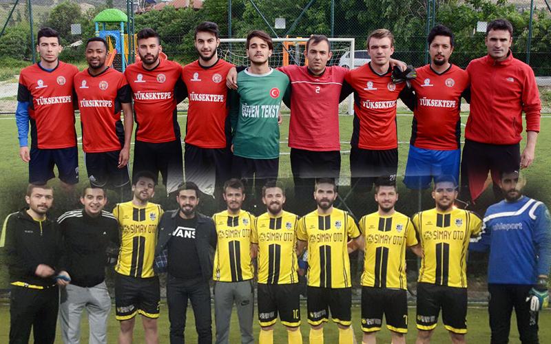 Pamukkale'de finali Tekkeköy ile 15 Mayıs Fikirtepe oynayacak