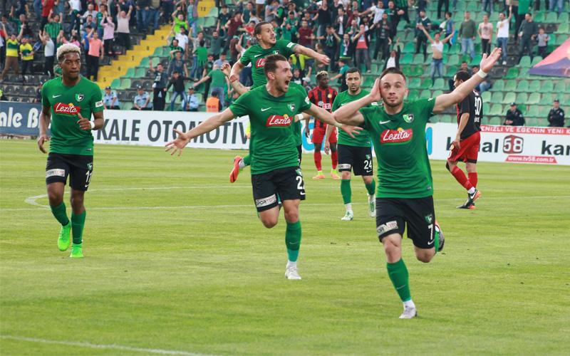 Denizlispor'dan Eskişehir'e 2 gollü tarife