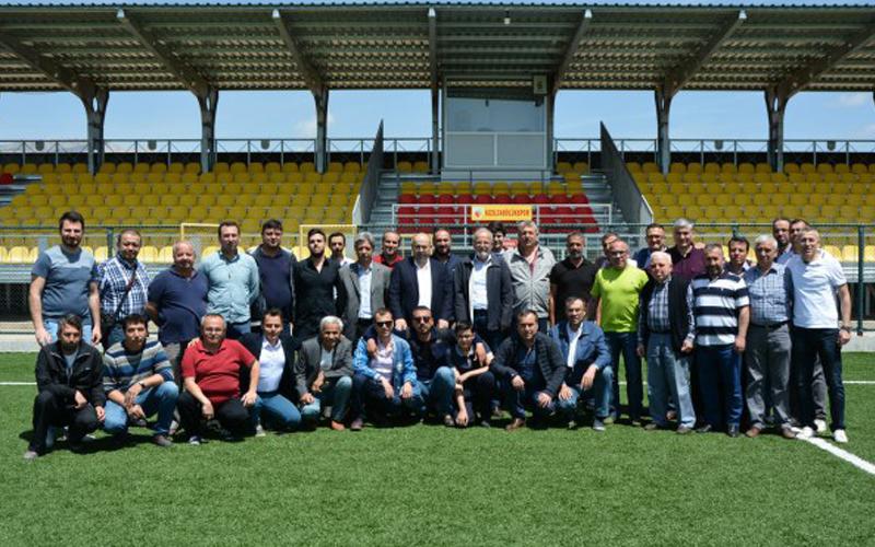 Kızılcabölükspor'da Duran yeniden başkan