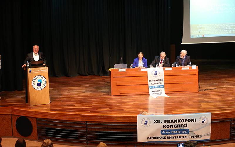 PAÜ'de Frankofoni Kongresi yapıldı