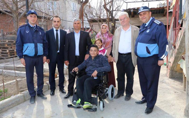 Honaz Belediyesi'nden 20 tekerlekli sandalye