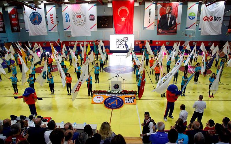 Sarayköy'de Koç Spor Fest heyecanı