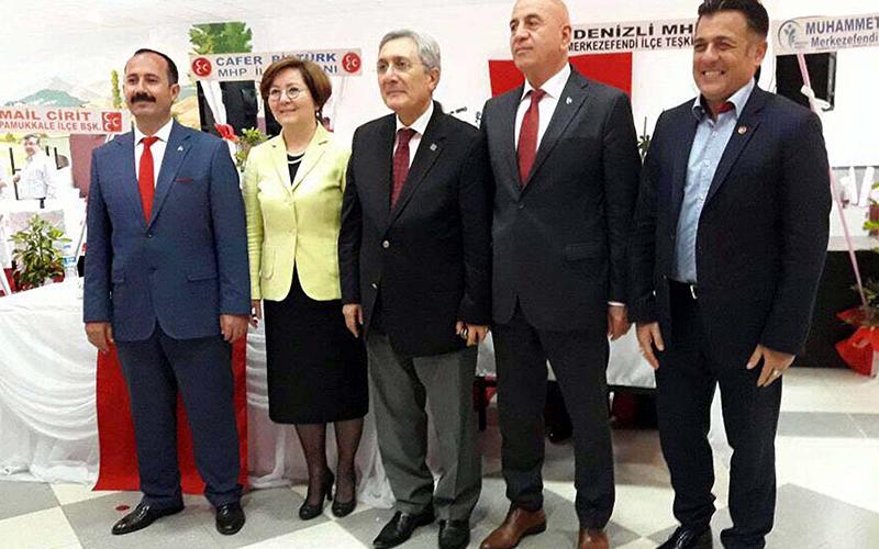 MHP'de Pamukkale ve Merkezefendi kongreleri tamam