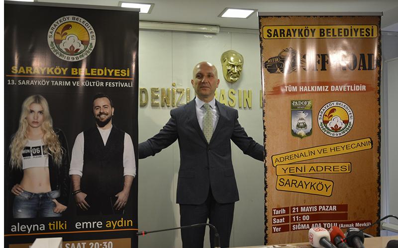 Sarayköy'de Aleyna Tilki ve Emre Aydın'lı festival