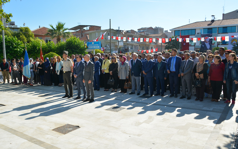 Sarayköy Milli Mücadele'ye katılışının 98. yılını kutladı
