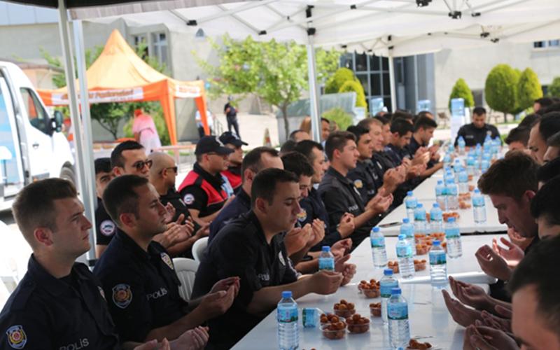 Şehit polis Akçadağ unutulmadı