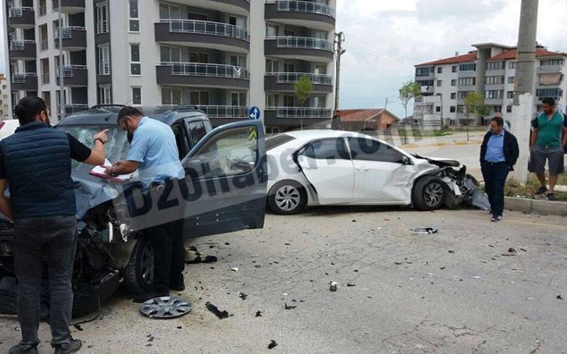 Yeni Şafak'ta kaza: 7 yaralı