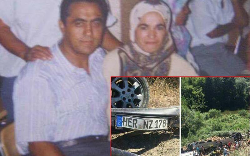 Denizlili gurbetçi aile kaza kurbanı