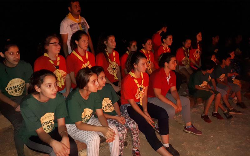 Bozkurtlu izciler Salda'da kamp yapacak