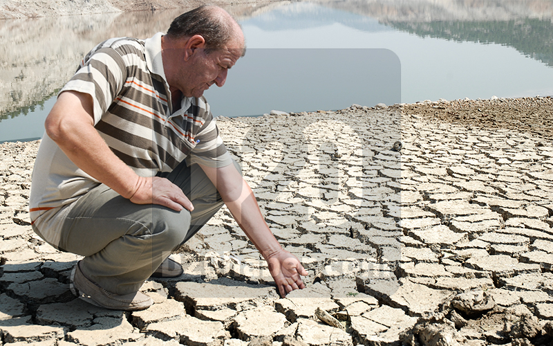 Denizli'deki baraj ve göletlerde su rezervi düşüyor