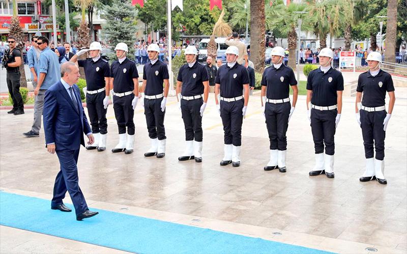 Erdoğan Denizli'de