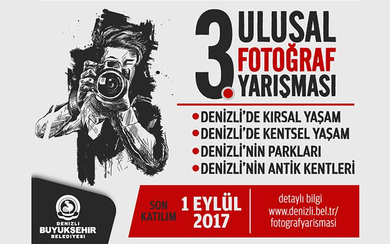 3. Ulusal Fotoğraf Yarışması'na büyük ilgi