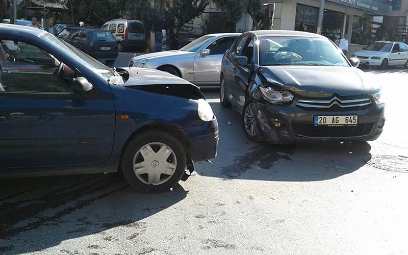 İncilipınar'daki kazada 1 kişi yaralandı