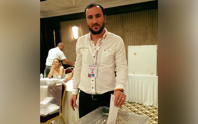 Özbay, Eğitim-İş Denetleme Kurulu'na seçildi