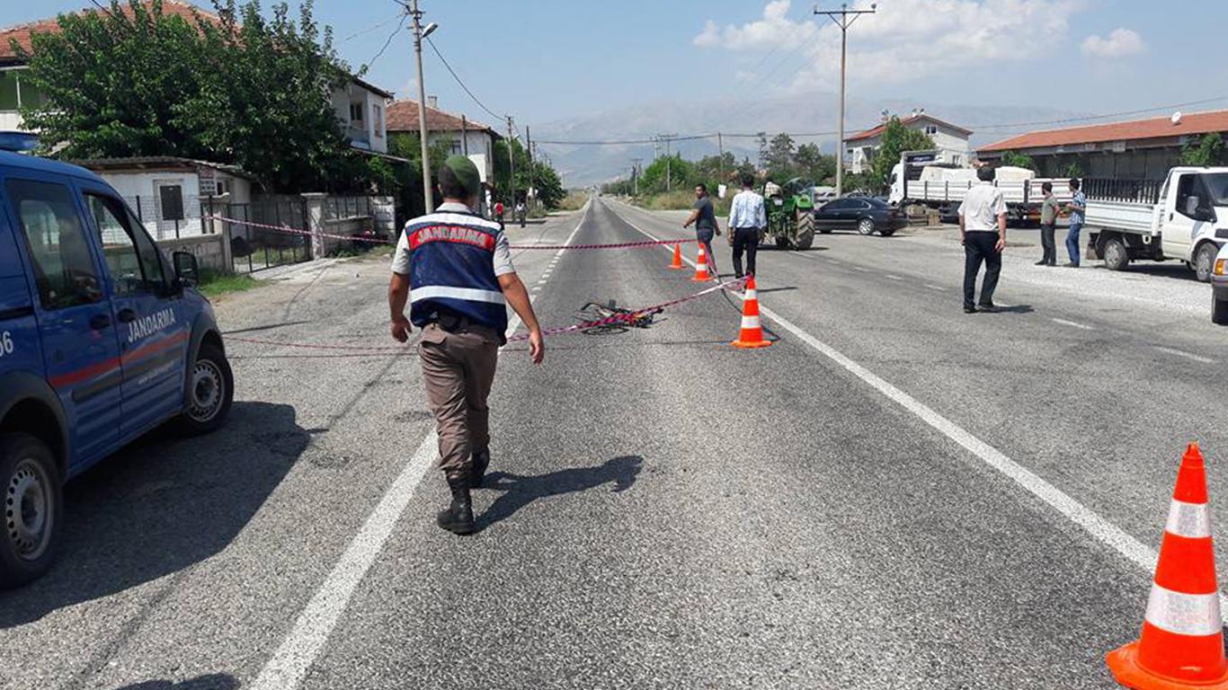 Denizli'deki kazada 1 çocuk yaralandı