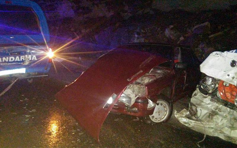 Denizli'de 1 haftada 138 trafik kazası