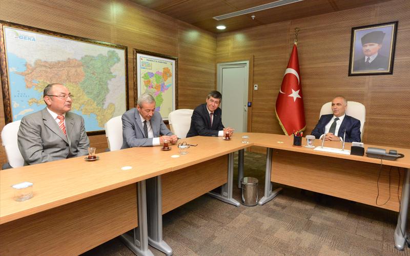 DP Denizli İl Teşkilatı'dan Karahan'a ziyaret