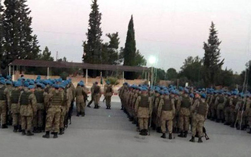Denizli'den 3 komando taburu, 'Zeytin Dalı Harekatı'nda